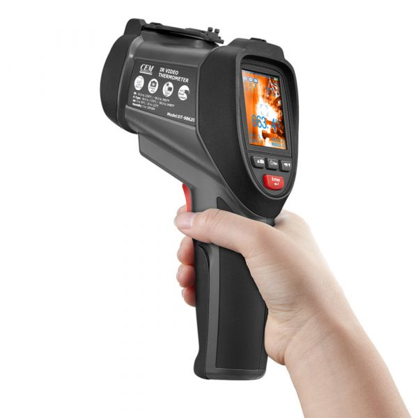 CEM DT-9862 celsius Video infrared thermometer gun
