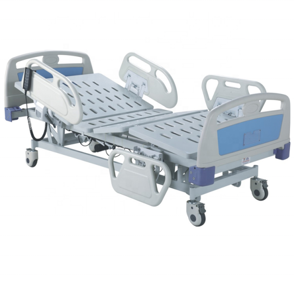 Dingli 3 5 function electric nursing care lifting bed hopital ICU bed